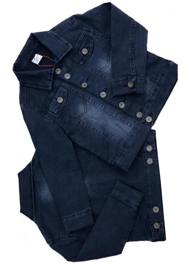 2-3-4-5-6-7-8-9-10-11-12 лет мальчик джинсовая куртка 6M