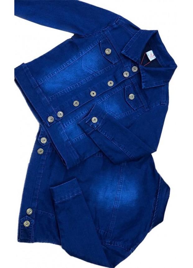 2-3-4-5-6-7-8-9-10-11-12 лет девочка джинсовая куртка 7M