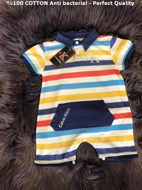100% cotton antibacterial excellent quality baby rompers M9