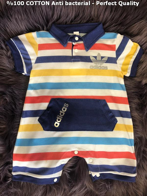 100% cotton antibacterial excellent quality baby rompers M6