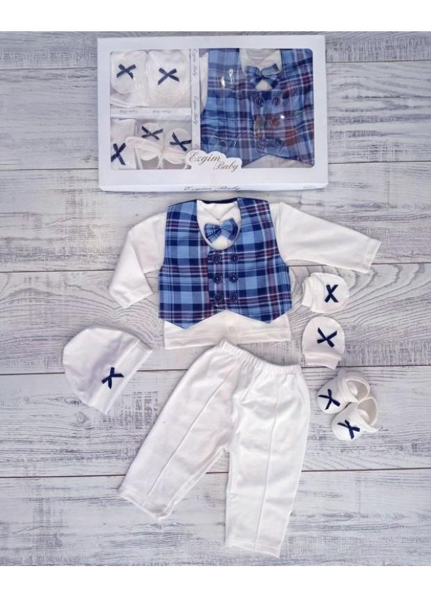 newborn clothing wholesale boy newborn box set wholesale blue