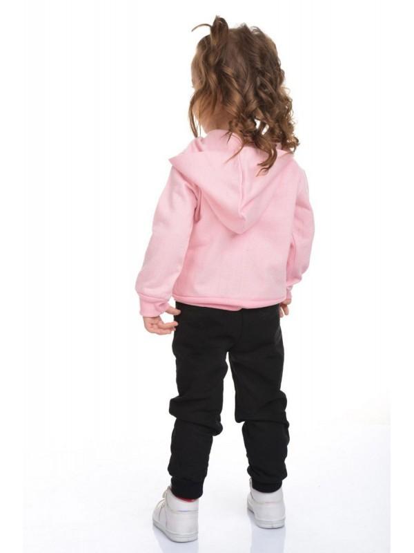 сладкий спортивный костюм для девочек 3/10 возраст розовый черный