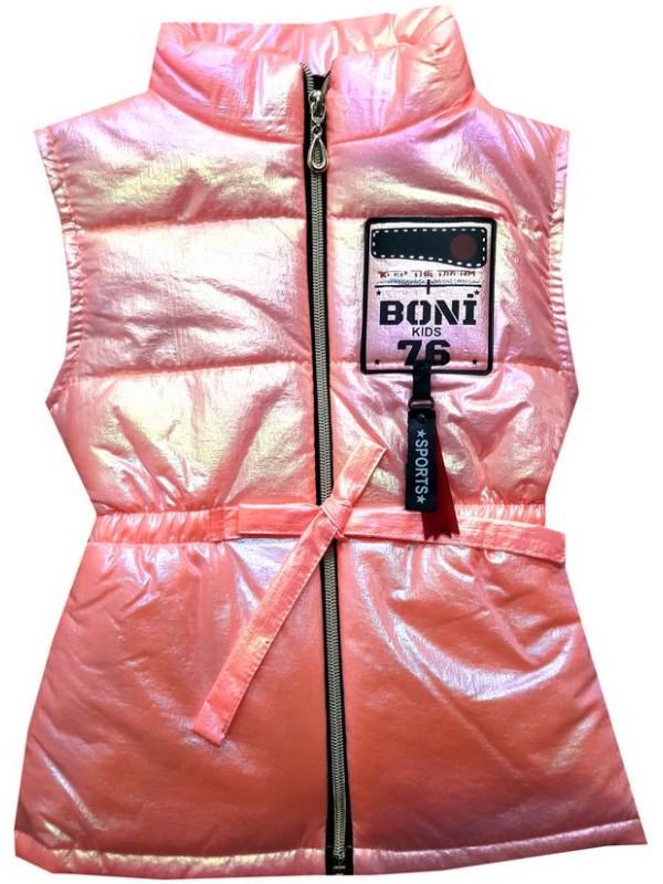 3-4-5 age girls vest raincoat wholesale model2