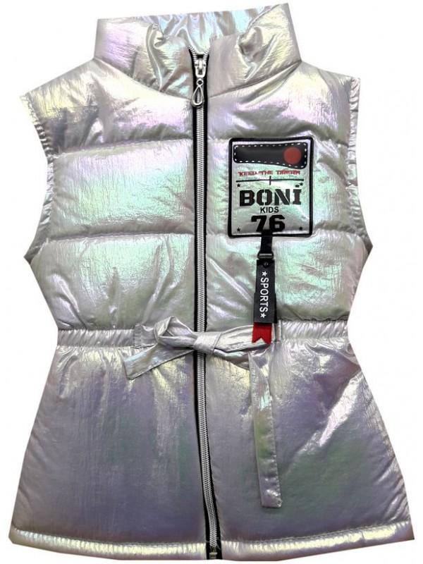 3-4-5 age girls vest raincoat wholesale model3