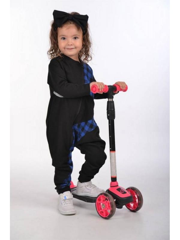 осенняя детская одежда для девочек оптом 2/8 лет синяя