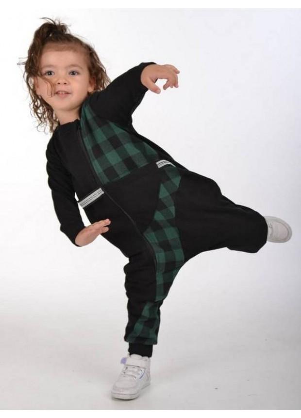 sonbahar çocuk kız giyim toptan 2/8 yaş koyu yeşil
