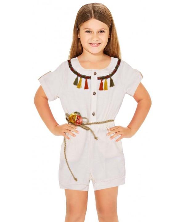 1-2-3-4-5-6 лет летние платья для девочек оптом белое