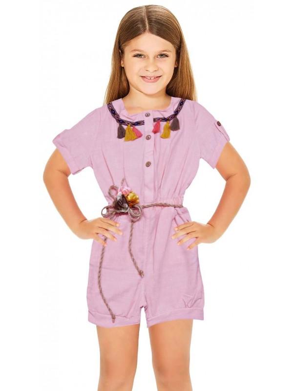 1-2-3-4-5-6 age summer girls dress wholesale pink