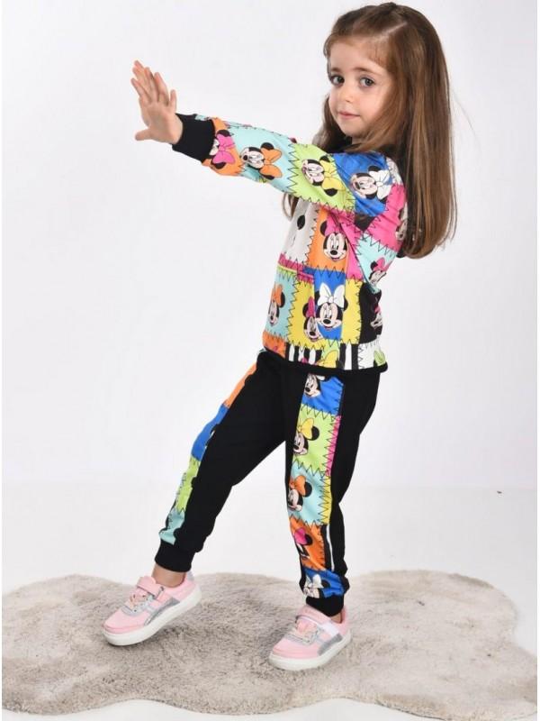 одежда для девочек детская оптом милая мышь с принтом 3/10 лет
