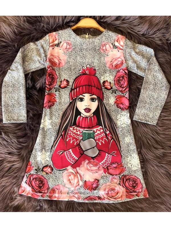 çocuk kız giyim toptan tunik elbiseler 6/9 yaş distribütör firmalar