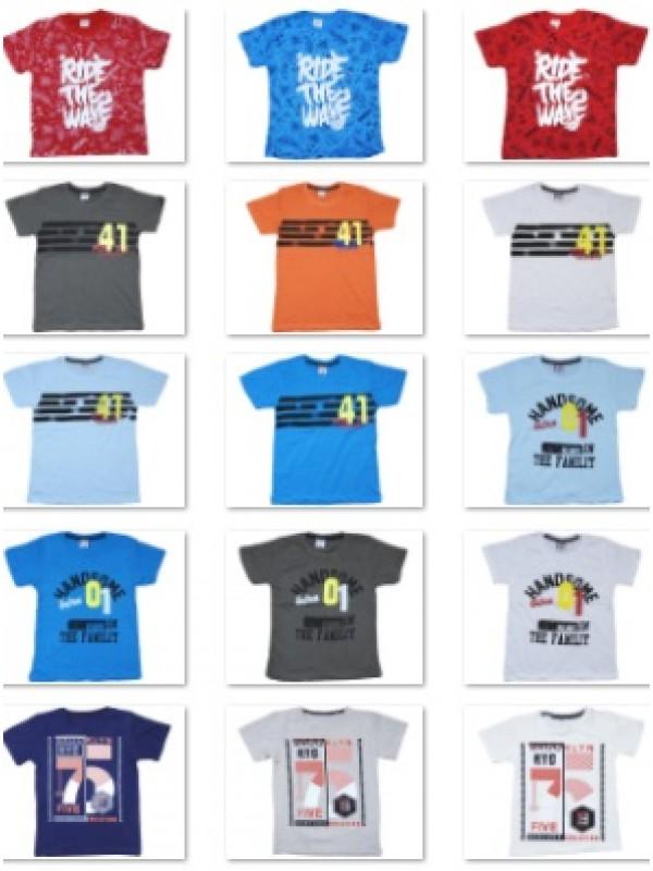 2-3-4-5-6-7 yaş çocuk erkek tişört en ucuz toptan minimum 1000 adet $0.79