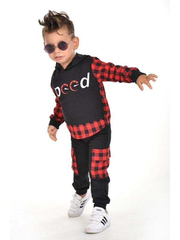 зима осень одежда для мальчиков оптом 3/9 лет красный