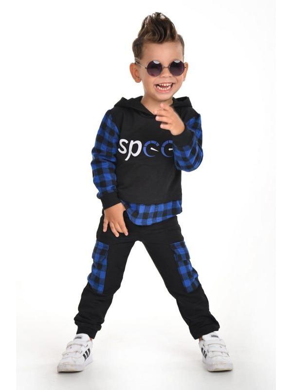 Зимняя осенняя одежда для мальчиков оптом 3/9 лет синяя