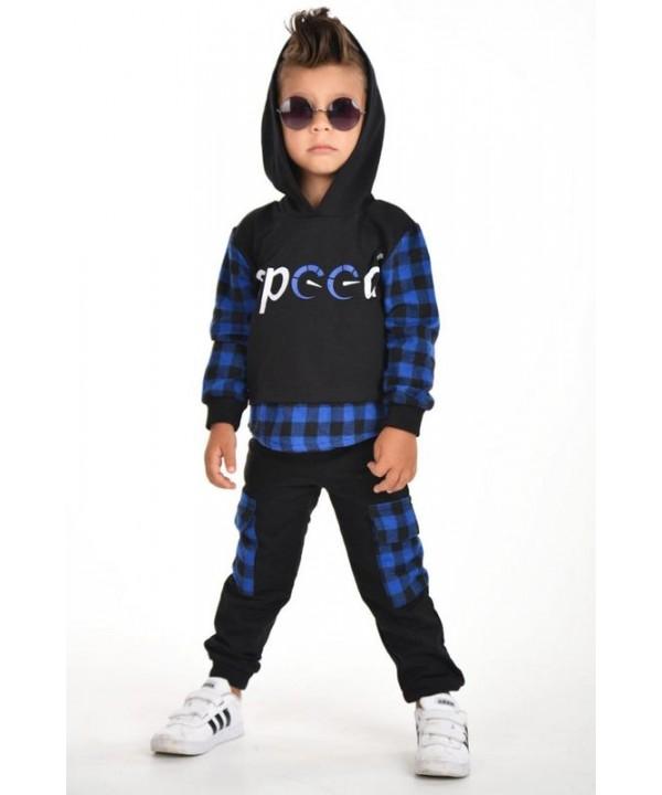 winter autumn boys clothing wholesale 3/9 age blue