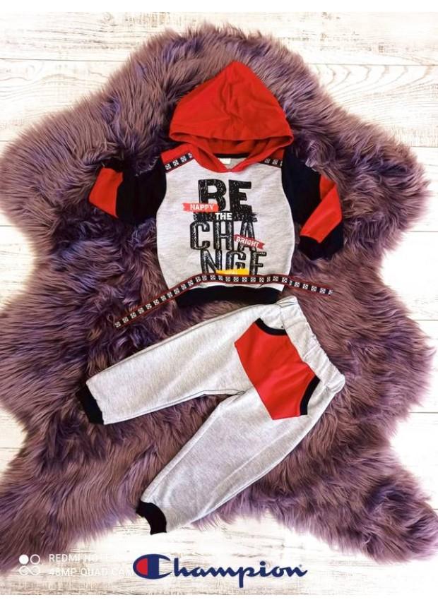 2 3 4 5 age boy's sweatpants suit model1