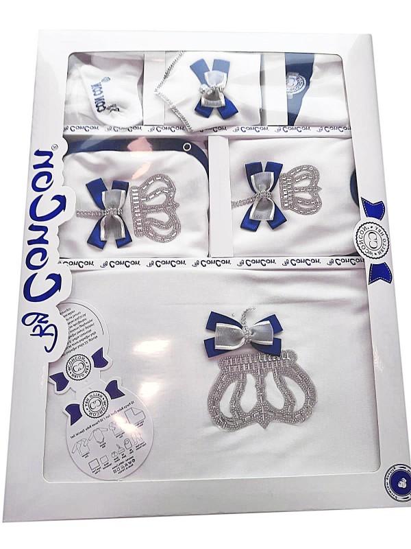 crowned shiny newborn box gift set wholesale