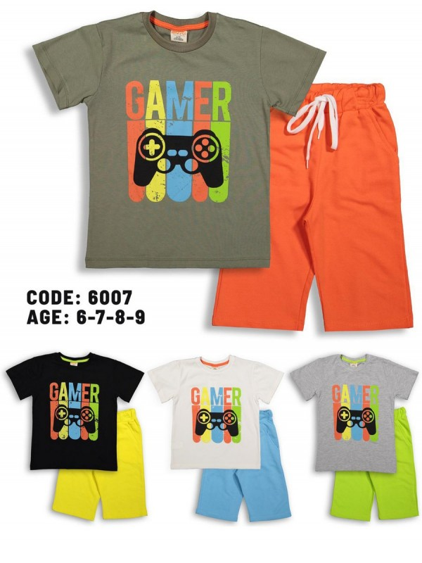 6-7-8-9 age luxury group summer boy double team