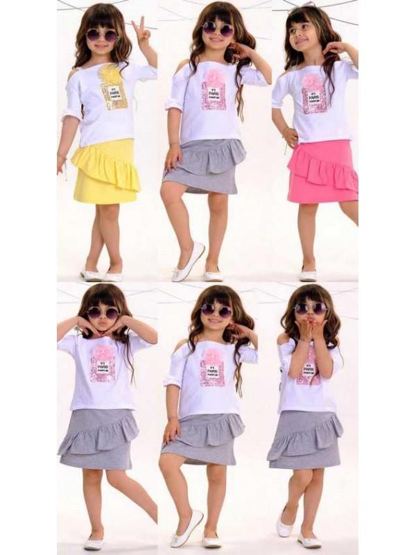 2/10 летняя летняя одежда для девочек оптом