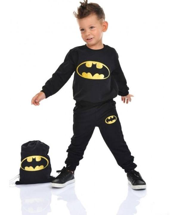 winter kids boys clothes wholesale 2/8 ages batman printed