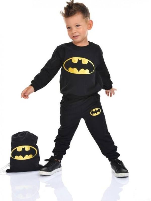 Зимняя детская одежда для мальчиков оптом 2/8 лет с принтом Бэтмена