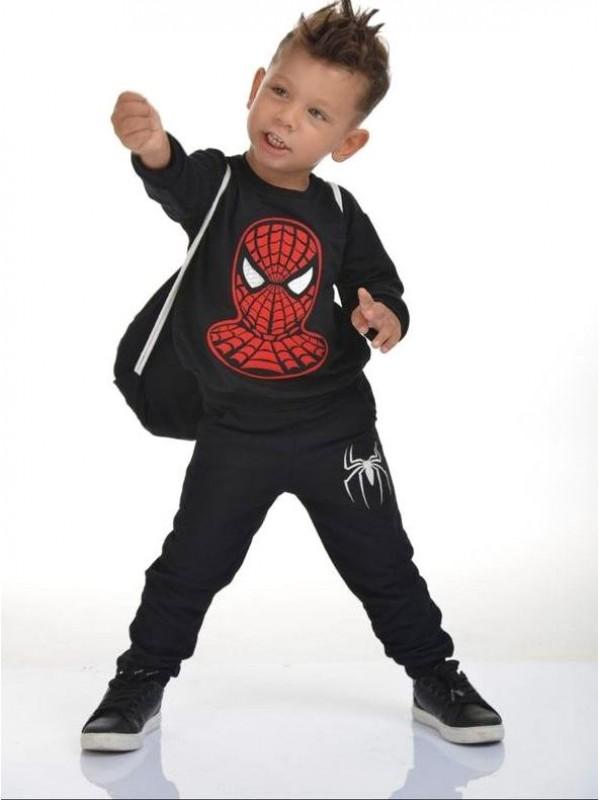 зимняя детская одежда для мальчиков оптом 2/8 лет человек-паук