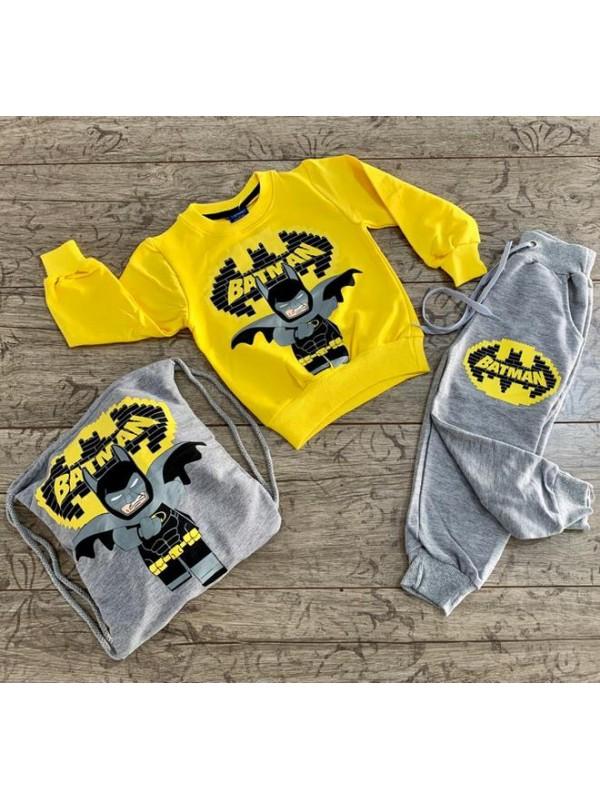 children clothing wholesale winter tracksuit set 1/6 age batman edition