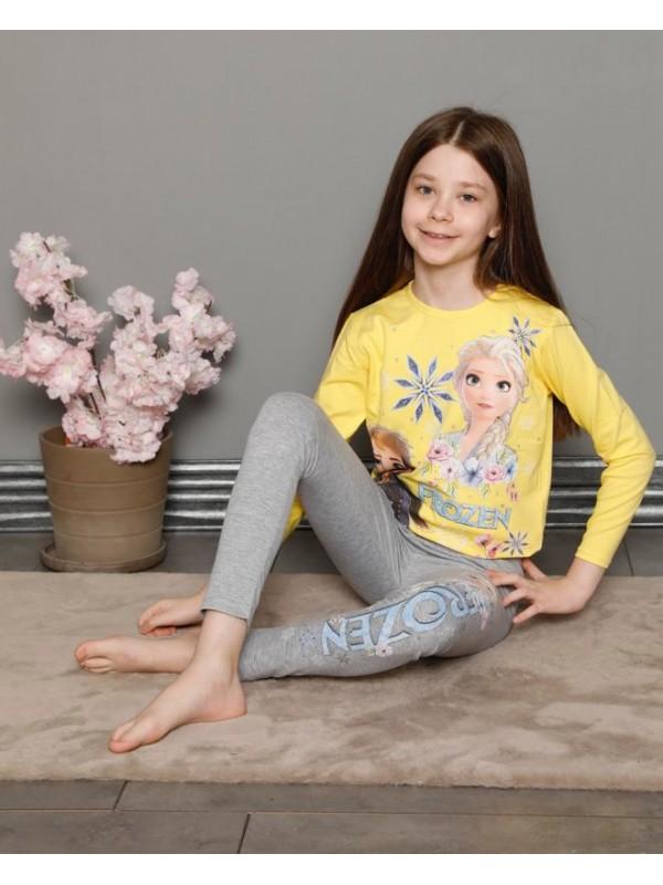 Детская одежда для девочек, пижамы с принтом от 3 до 10 лет