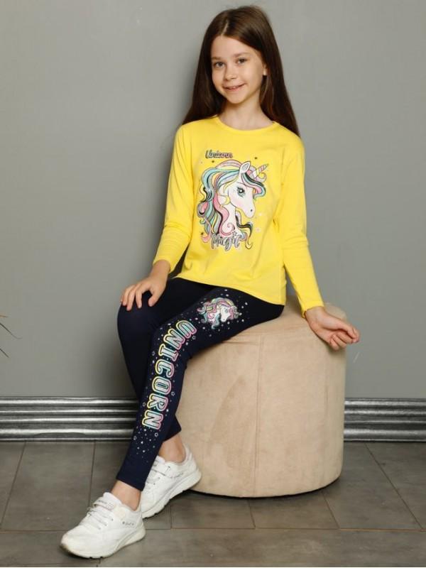 детская одежда для девочек пижамы костюм 3/10 возраст турция оптом