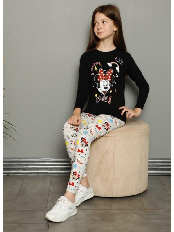 детская одежда для девочек пижамы 3/10 возраст белый и черный