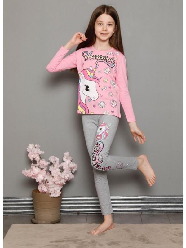 детская одежда для девочек пижамы спортивные костюмы 3/10 возраст интернет-магазин