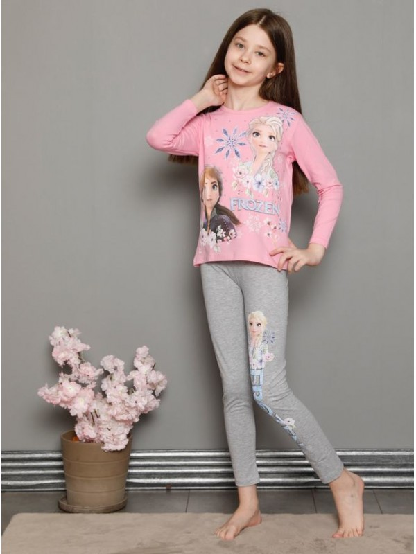 Детская одежда для девочек, пижамы для детей от 3 до 10 лет, пижамы с замороженным принтом