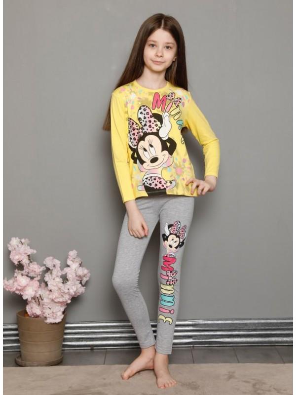 Детская одежда для девочек, пижамы для детей 3-10 лет, осень-весна