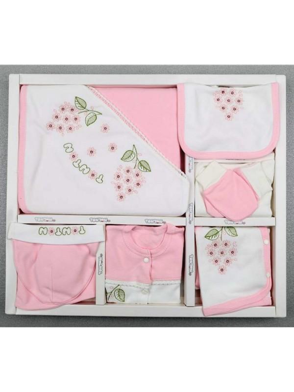 подарочная коробка для девочки из органического хлопка, 10 шт. оптом