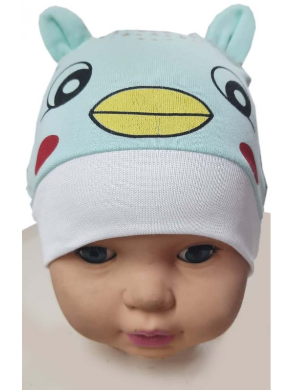 12 Pcs baby hat kitty printed wholesale Ma