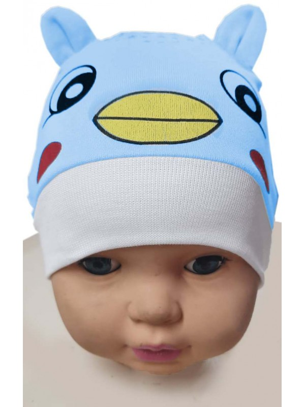 12 Pcs baby hat kitty printed wholesale Mc