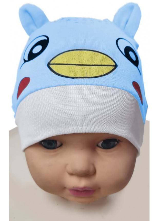 12 шт. Детская шапка с принтом котенка оптом Mc