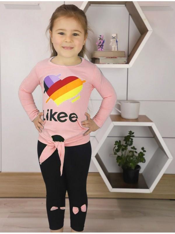 autumn girls clothing wholesale 1/8 age pink