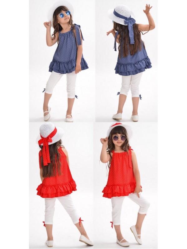 летние девочки детские шляпы костюмы оптом классные