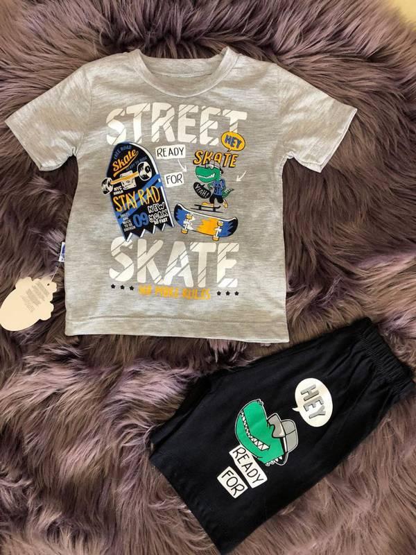 1 2 3 4 age summer children's clothing wholesale double suit M2