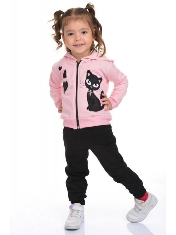 sweet girl tracksuit set 3/10 age pink black