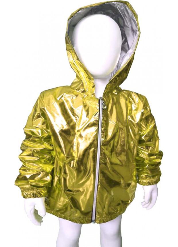 kız erkek çocuk kaliteli yağmurluk fosforlu parlak sarı 5 6 7 8 yaş