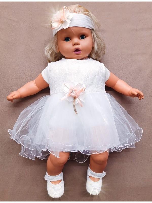 платье для новорожденных девочек свадебное платье для маленьких девочек