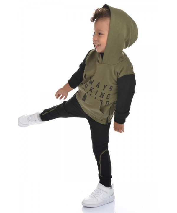 online store wholesale children's clothing 2/8 age dark green color