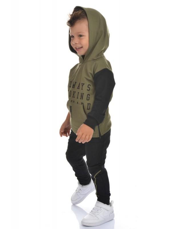 интернет-магазин оптовой детской одежды 2/8 лет темно-зеленого цвета