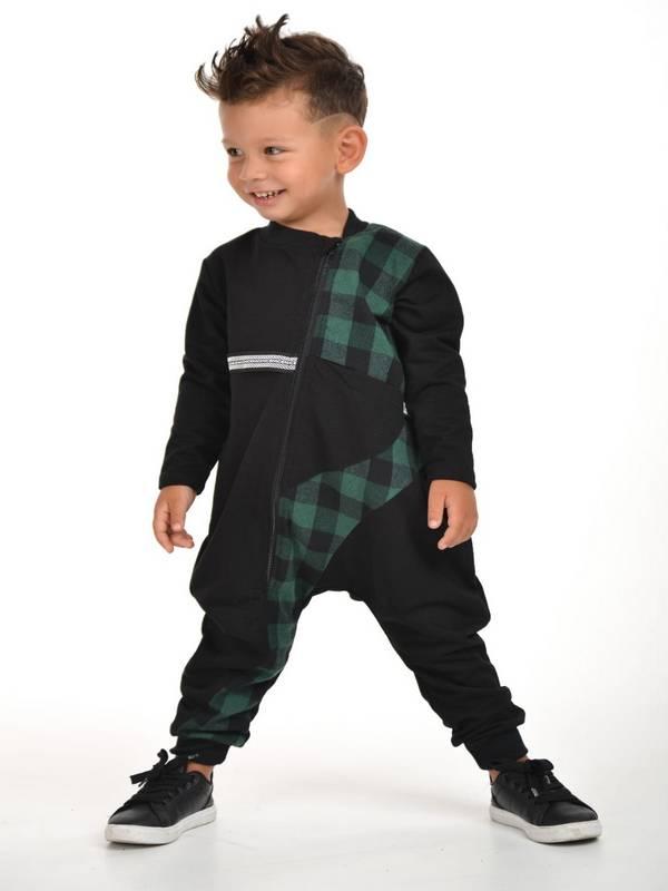 sonbahar kış çocuk erkek giyim toptan 2/8 yaş yeşil