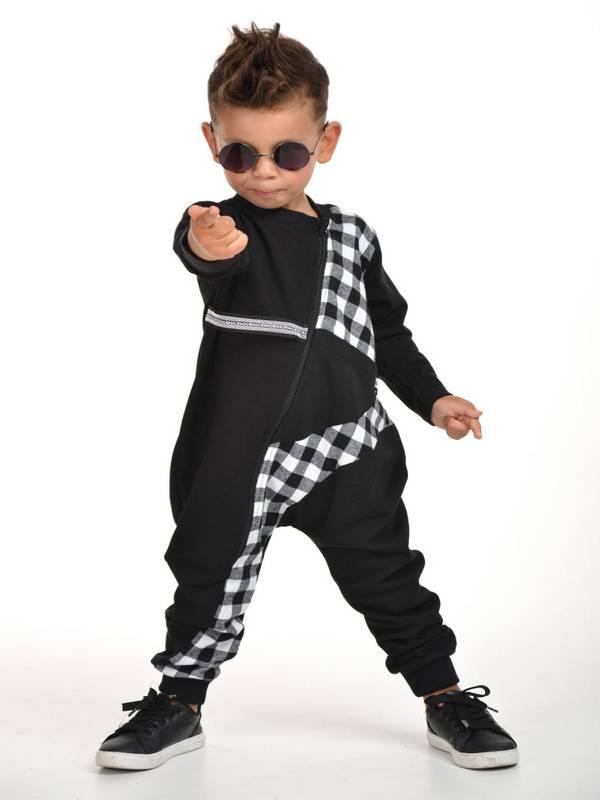 autumn winter kids boys clothing wholesale 2/8 age black white