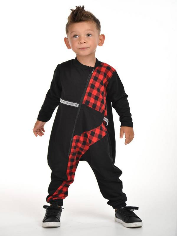 autumn winter children's boys clothing wholesale 2/8 age red