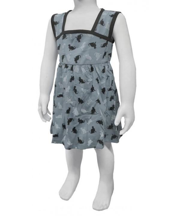 Возрастной диапазон 1-2-3-4: 3 платья для девочек $ 0,95 минимум 40 шт.